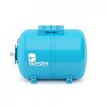 Бак мембранный для водоснабжения горизонтальный Wester  WAO50