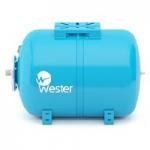 Бак мембранный для водоснабжения горизонтальный Wester  WAO100