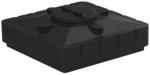 Бак д/душа 240 (черный) (1100х1100х300)